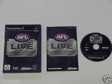 AFL LIVE PREMIERSHIP for PLAYSTATION 2