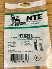 NTE289 T-NPN, SI, Audio Power Amp/Switch