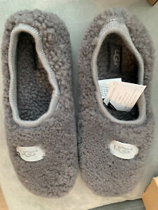 UGG Birche Grey Gray Slippers Size 8. New in box.