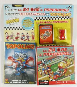 PRL) WALT DISNEY TOPOLINO 3416 LA 24H DI PAPEROPOLI 23 CARTE PLAYING CARDS GIOCO