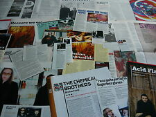 THE CHEMICAL BROTHERS - MAGAZINE CUTTINGS COLLECTION (REF Z19)