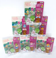 Angry Birds Stella Telepods Lot w/ 6 Figure Packs & Accessories