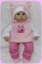 Puppenkleidung für Baby Puppe, Annabell Puppe 36 cm