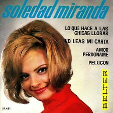 EP SOLEDAD MIRANDA top YE YE GIRL pelucon 45 SPAIN rare 1964 EX+ JESS FRANCO