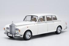 Kyosho 1968 Rolls Royce Phantom VI 1/18 Scale Diecast Car Model Toy WHITE