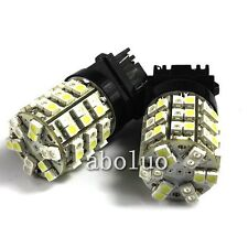 2pc Switchback Dual Color 60 SMD LED 3157 3457 3057 4157 Turn Signal Light Bulbs
