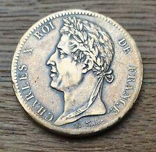 10 centimes Charles X 1827 H (guyane)