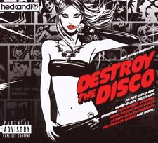 Hed Kandi - Destroy The Disco (2 x CD) SEALED Gossip Example Prodigy Bloc Party