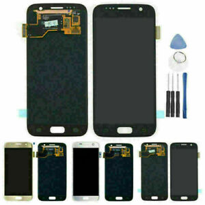 LCD Touch Screen Display Digitizer Replacement Kits For Samsung Galaxy S7 Phone