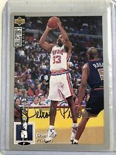 Grant Hill Rookie RC 1994-95 Collector's Choice #219 Silver Signature Parallel