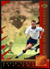 David Platt Giocatore dell'Anno #WC3 World Cup USA'94, (eng/ger) card (C386)