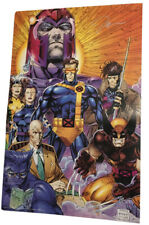 X-men Poster Signed Autographed by Jim Lee 22x34 1990s