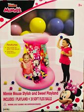 DISNEY JUNIOR MINNIE MOUSE STYLISH AND SWEET PLAYLAND AGES 2+ YEARS