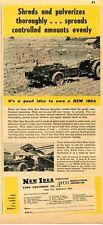 1952 Print Ad of New Idea Manure Spreader
