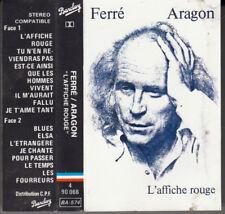 K 7 AUDIO  (TAPE)  LEO FERRE *LES CHANSONS D'ARAGON*