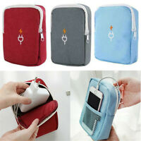 Travel Cable Cord Organizer Electronics Accessories Bag USB Drive Case Pouch TR