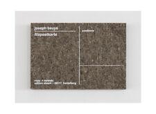 Joseph Beuys-Filzpostkarte/feutre CARTE POSTALE-encadrée-original-très rare