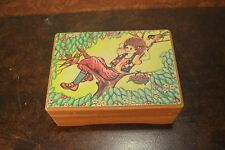FAB Vintage Cherry Tree Afro Girl Jewelry Trinket Box by Apex RETRO FUNKY UNIQUE