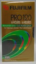 SEALED Fujifilm Video Cassette High Grade Pro 120 6 Hours