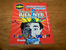 DISNEY BILL NYE THE SCIENCE GUY 1995 SKYBOX INTERACTIVE PROMO CARD