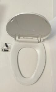 Elongated Toilet Seat White🚽