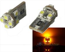 Ámbar/Amarillo/Naranja Canbus Libre De Error 501/W5W Bombillas LED Lámpara De Repetidor Lateral