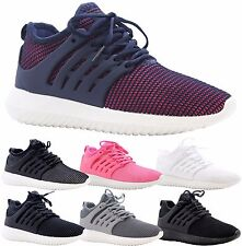 Ladies Womens Jogging Running Fitness Sports Shock Absorbing Trainers Shoes Size