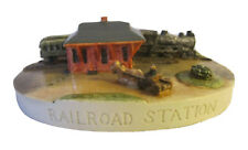 Sebastian Miniature Sml-445 Railroad Station (Spirit of America I) - Signed 3515