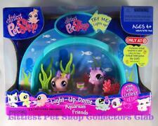 Littlest Pet Shop Target Aquarium Dome OCTOPUS lot #704 SEAHORSE 705 Retired NIB