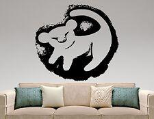 Simba Wall Decal Lion King Vinyl Sticker Disney Art Nursery Cartoon Decor 5eyhn