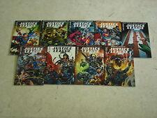 JUSTICE LEAGUE SAGA Lot de 9 comics