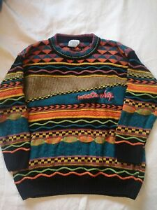 Sweater Shop Vintage Multicoloured Sweater Good Condition Size 8/10/12/14