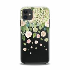 For iPhone 12 Pro Max Case 11 Mini SE Xr Xs 8 Plus 7 Roses Flowers Lightweight
