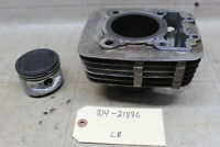 86-88 Kawasaki Bayou 185 1986 Klt185 Oem Engine Cylinder Piston Block Jug Barrel