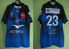 Maillot rugby Puma Montpellier Porté 23 Top 14 Altrad Jersey vintage shirt - XXL