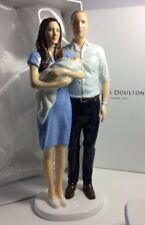 Royal Doulton Prince George A Royal Birth Hn5716 W/William And catherine Mint