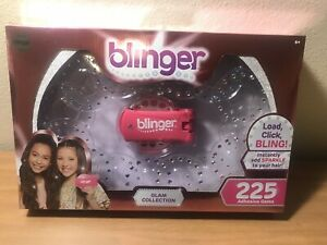 Blinger Glam Collection Set-225 Adhesive Gems Pieces! New In Sealed Box.