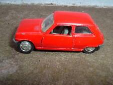 NOREV MINI JET  #301871 RENAULT 5 VINTAGE 1/66 IN USED CONDITION UNBOXED