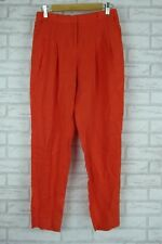 BIANCA SPENDER Pants Sz 8 Orange Casual, Work, Office