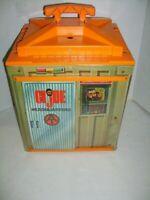 """Vintage 1970's Adventure Team 12"""" GI JOE HEADQUARTERS w BOX"""