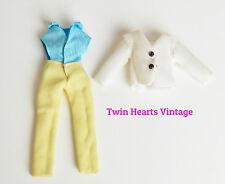 Vintage 60s First Generation Wataru-kun Blazer Outfit Licca Doll Takara Tlc