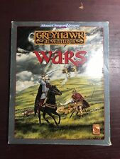 Advanced Dugeong & Dragon, Grey Hawk Wars (AD&D, TSR)