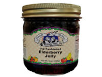 Amish Made Elderberry Jelly - 9 oz - 2 Jars - FREE SHIPPING