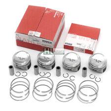 4Pcs Pistons & Rings Φ82.5mm 21mm for 1.8TFSI Audi A3 A4 A5 VW Passat Skoda Seat