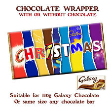 Christmas Chocolate Bar Wrapper Novelty Gift For Dad Mom Husband Wife Uncle
