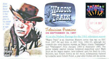 """COVERSCAPE computer generated 60th anniversary of TVs """"Wagon Train"""" event cover"""