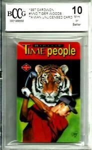 1997 Cardwon Tiger Woods Rookie Promo  BCCG Graded Gem Mint 10 # NNO
