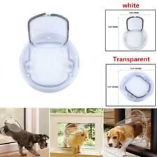 Locking Lockable Pet Cat Puppy Dog Magnetic Flap Door Gate Pet Door Pet Gate