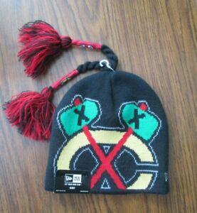 New Era Chicago Blackhawks NHL - Kids Youth 18 M - 5 Yrs - Winter Knit Cap - NEW