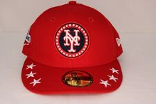 dc29040c5cdb1 New Era New York Mets Red 2018 MLB All-Star Workout On-Field 59FIFTY